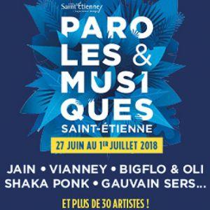 Festival PAROLES ET MUSIQUES  - SHAKA PONK + BIGFLO & OLI + ... à SAINT ETIENNE @ Scène LA GRANDE PRAIRIE - Billets & Places