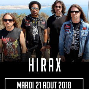 HIRAX + MORBID SCUM @ SECRET PLACE - SAINT JEAN DE VÉDAS
