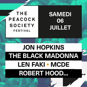The Peacock Society Festival 2019 - Ticket Samedi