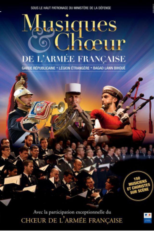 MUSIQUES ET CHŒUR DE L'ARMEE FRANCAISE @ Le Vinci - Auditorium François 1er - Tours