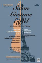 Billets CONCERT TOUR EIFFEL - Tour Eiffel - Salle Gustave Eiffel (1er étage