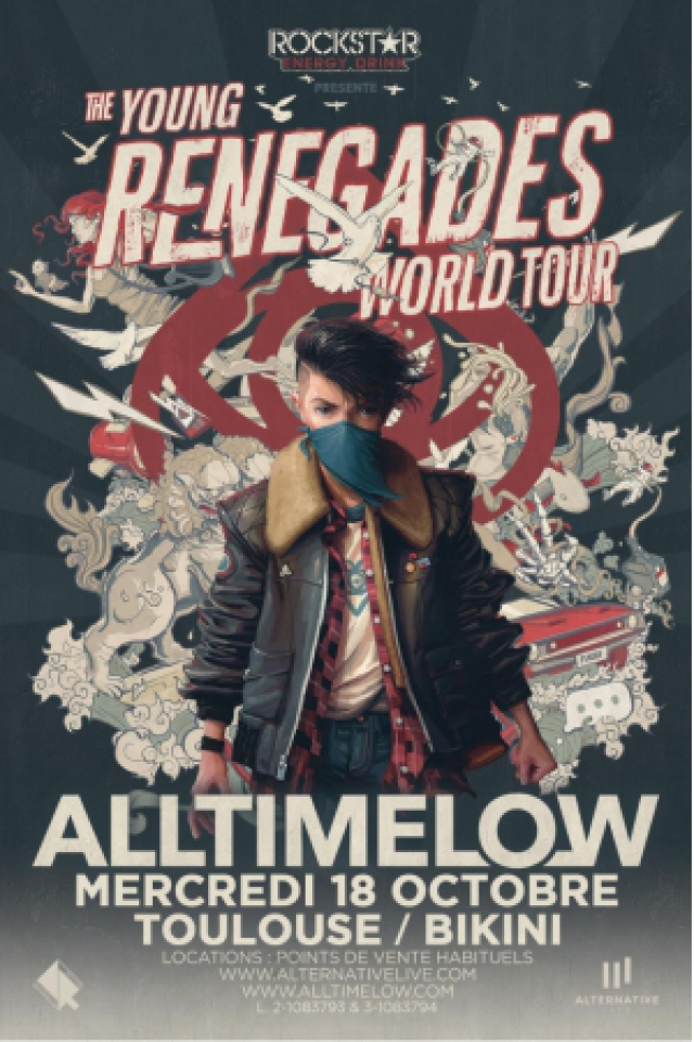 ALL TIME LOW @ LE BIKINI - RAMONVILLE