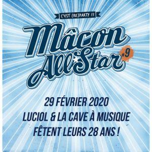Les 28 Ans De La Cave À Musique Avec Macon All Star#9