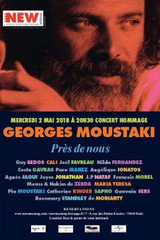 Concert GEORGES MOUSTAKI  PRES DE NOUS à Paris @ New Morning - Billets & Places