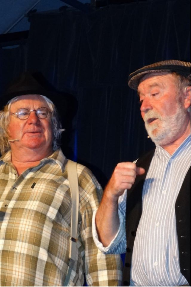 Roger le Contou et Fred le Disou- D'une lumière à l'autre @ Centre Culturel L'Asphodèle salle spectacle - Questembert
