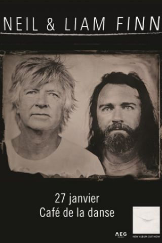 Concert NEIL & LIAM FINN à Paris @ Café de la Danse - Billets & Places
