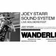 Soirée  Joey Starr x Sound System  à PARIS @ Wanderlust - Billets & Places