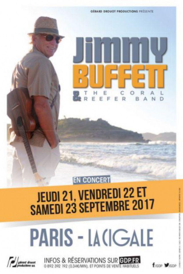 JIMMY BUFFETT @ La Cigale - Paris