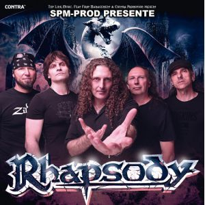 RHAPSODY 20TH ANNIVERSARY FAREWELL TOUR @  LE METRONUM - TOULOUSE