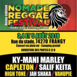NOMADE REGGAE FESTIVAL 2018 - JOUR 1 @ GYMNASE CLAUDE METENDIER - FRANGY