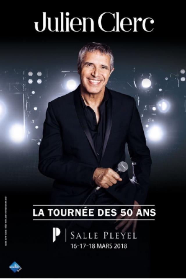 JULIEN CLERC @ Salle Pleyel - Paris
