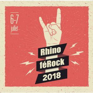 Festival Rhinoferock - Pass 2 Jours @ LA FORGE - PERNES LES FONTAINES