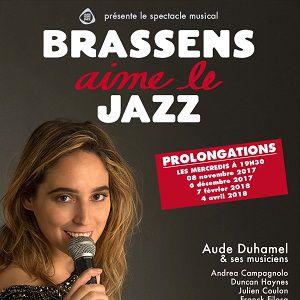 Brassens aime le Jazz @ Théâtre Trévise - Paris