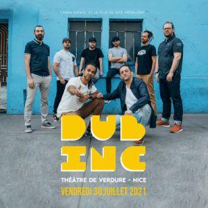 Dub Inc · Vendredi 30 Juillet 2021 · Théatre De Verdure