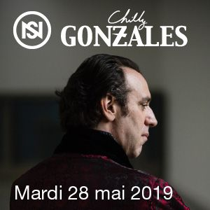 CONCERT SPECIAL : CHILLY GONZALES @ AUDITORIUM-ORCHESTRE NATIONAL DE LYON - Lyon