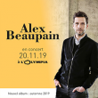 Concert ALEX BEAUPAIN  à Paris @ L'Olympia - Billets & Places