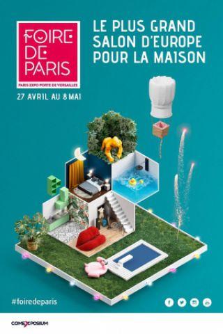 Salon foire de paris parc des expositions porte de - Parc des expositions porte de versailles plan ...