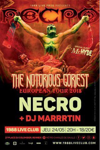 Concert Necro + DJ Marrrtin