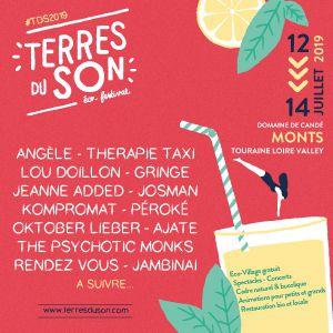 Festival Terres Du Son - Jeanne Added, Lou Doillon, Gringe