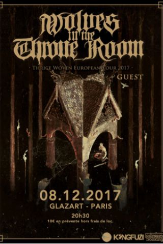 Concert Wolves In The Throne Room +  guest @ Glazart