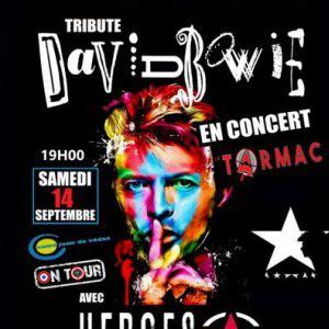 Concert Heroes Star (Tribute David Bowie) À Salle Le Tarmac