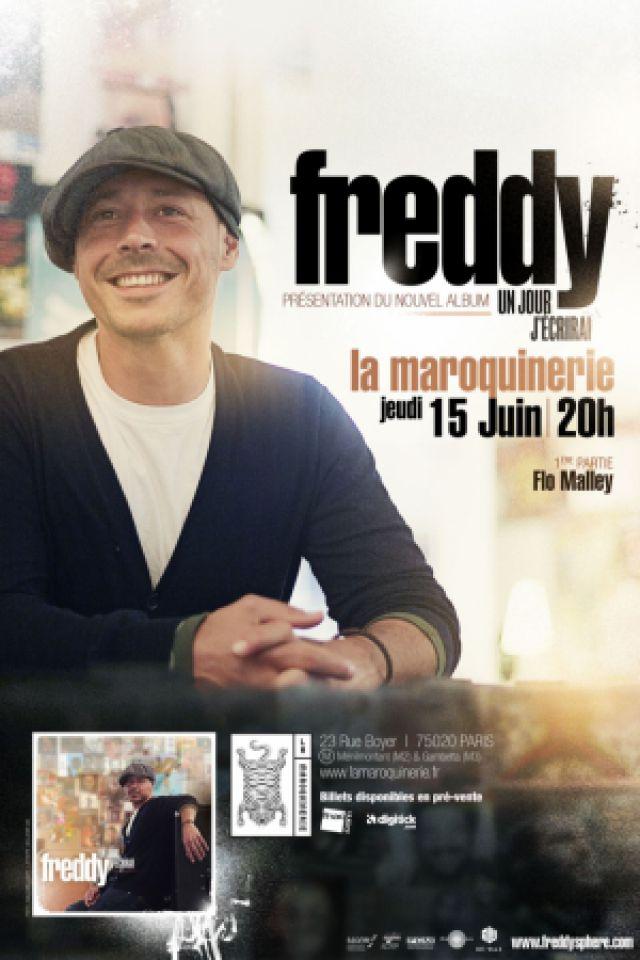 FREDDY - CONCERT DE SORTIE D'ALBUM à PARIS @ La Maroquinerie - Billets & Places