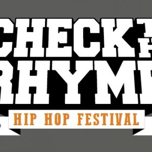 Check The Rhyme - Vendredi 1 Juin  @ Théatre de Verdure - NICE