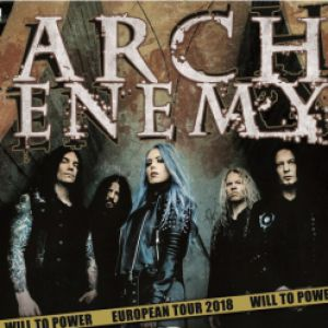 ARCH ENEMY / WILL TO POWER TOUR 2018 @ LE BATACLAN - PARIS