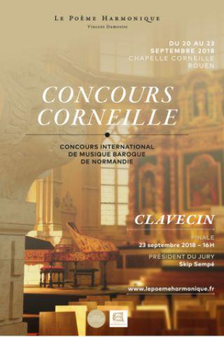 Billets CONCOURS CORNEILLE 2018 - PREMIER TOUR JOUR 1 (10 H) - Chapelle Corneille - Auditorium de Normandie
