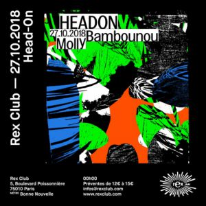 HEADON @ Le Rex Club - PARIS