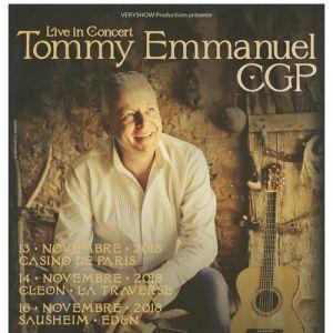 Tommy Emmanuel @ Espace Dollfus & Noack - SAUSHEIM