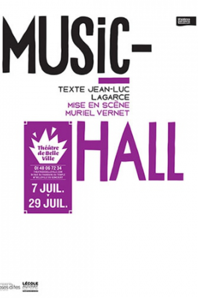 MUSIC-HALL (Auvray Nauroy) @ THEATRE DE BELLEVILLE - PARIS