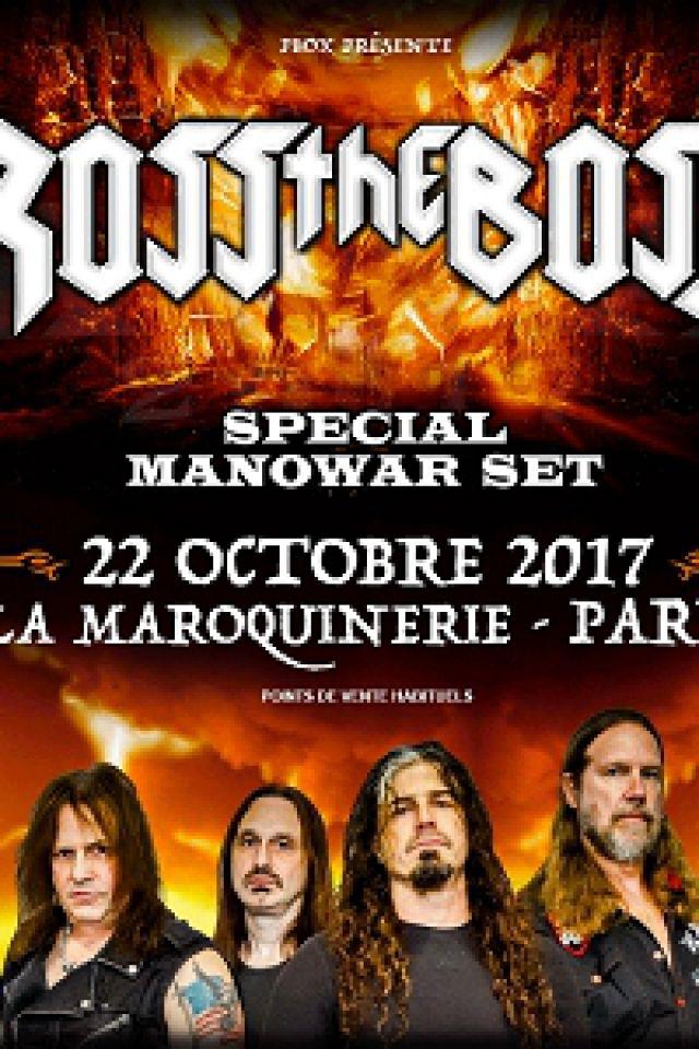 Ross the Boss - special Manowar set  @ La Maroquinerie - PARIS
