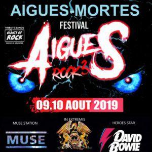 Festival Aigues Rock 3 - Aigues-Mortes 2019
