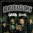 Concert BOOZE AND GLORY + GIUDA + THE ANALOGS à Nantes @ Le Ferrailleur - Billets & Places