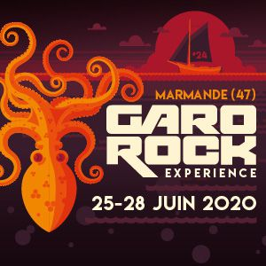 Garorock 2020 - Pass 1J Dimanche