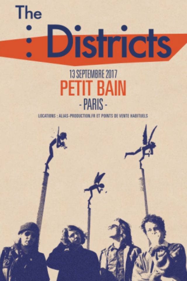 Concert The Districts + The Murlocs à PARIS @ Petit Bain - Billets & Places
