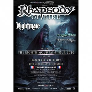 Rhapsody Of Fire + Nightmare + Manigance