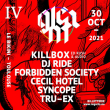 Concert GLEAM IV w/ Killbox (Audio & Ed Rush) à RAMONVILLE @ LE BIKINI - Billets & Places
