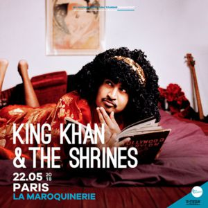 King Khan & The Shrines à Paris @ La Maroquinerie - PARIS