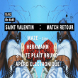 Soirée Saint Valentin: Match retour Paris Techno à PARIS 19 @ Glazart - Billets & Places