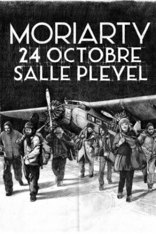 Billets MORIARTY - Salle Pleyel