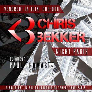 Chris Bekker Night Paris