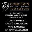 Festival PASS 3 JOURS CONCERTS à LAMORLAYE @ Golf du Lys Chantilly - Billets & Places