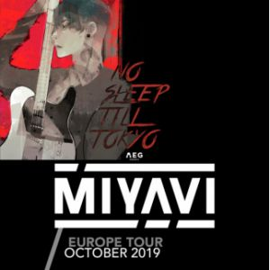 Concert Miyavi A Paris Le Backstage By The Mill Le 08 Octobre 2019