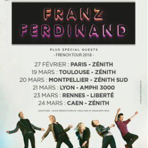 FRANZ FERDINAND + guest @ AMPHITHEATRE CITE INTERNATIONALE - LYON