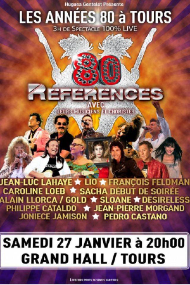 Concert LES ANNEES 80 A TOURS