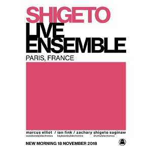 Billets SHIGETO ENSEMBLE NOVEMBER SHOW - New Morning