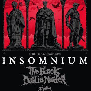 Insomnium + The Black Dahlia Murder + Stam1na