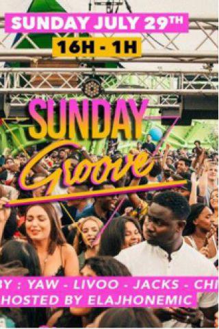 Billets Sunday Groove - Wanderlust